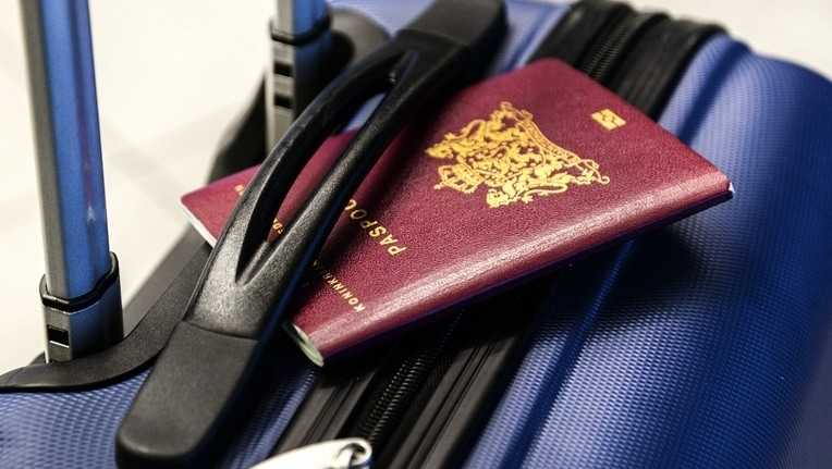 luggage courier services passport